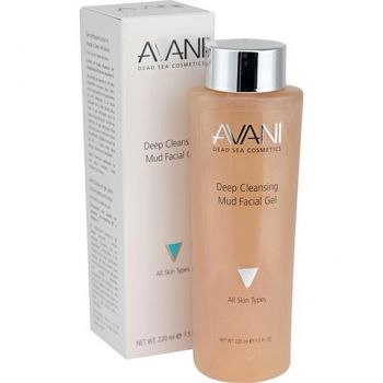 Dead Sea Mud Facial Cleanser by AVANI Dead Sea Cosmetics – 7.5 oz