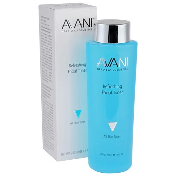 Face Toner w/ Dead Sea Minerals & Plant Extracts by Avani - 7.5 fl oz