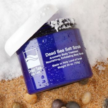 Salt Scrub w/ Moisturizing Oils by Dead Sea Spa Care – 24 oz.
