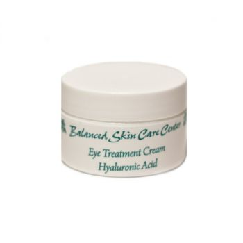 Eye Cream w/ Hyaluronic Acid & Aloe by Balanced Skin Care – 0.5 oz.