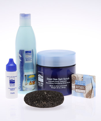 Bath Gift Set - Salt Scrub, Cleanser, Lotion by Dead Sea Spa Care