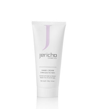 Hand Cream w/ Dead Sea Salts, Aloe, & Vitamin E by Jericho – 3.4 oz.