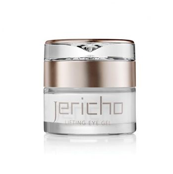 Eye Gel w/ Dead Sea Minerals & Retinol (Vit. A) by Jericho – 1.7 oz.