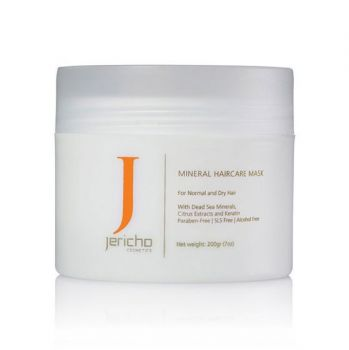 Hair Mask w/ Dead Sea Minerals & Argan Oil by Jericho - 7.0 oz.