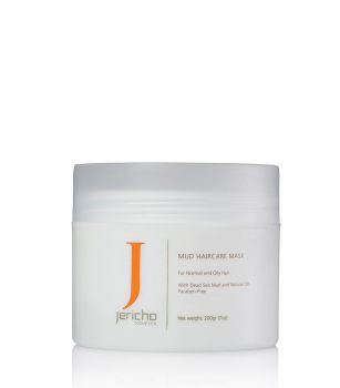 Hair Mask w/ Dead Sea Mud, Natural Oils, Vit. B & E by Jericho - 7 oz.