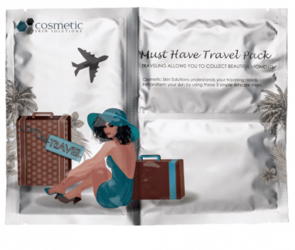 Travel Skincare Set by Cosmetic Skin Solutions - 5 Products