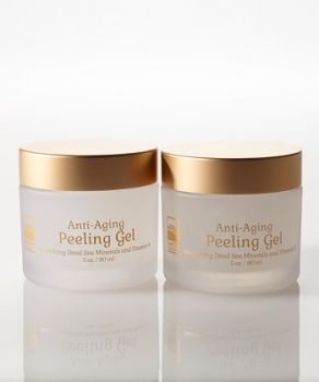 Peeling Gel by Dead Sea Spa Care - 2-pack of 3.0 oz. ea.