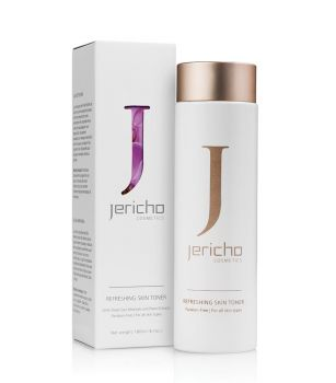 Face Toner w/ Antioxidants & Hydrating Emollients by Jericho – 6.1 fl oz