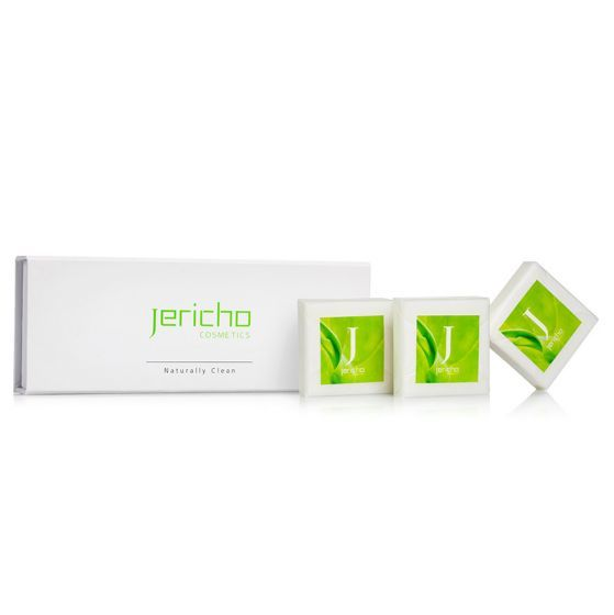 Soap Gift Set w/ Dead Sea Minerals, Extracts, & Oils by Jericho – 11 oz.