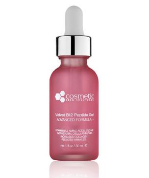 Peptide Serum w/ Vit. B3, B5, & B12 by Cosmetic Skin Solutions - 1 oz.
