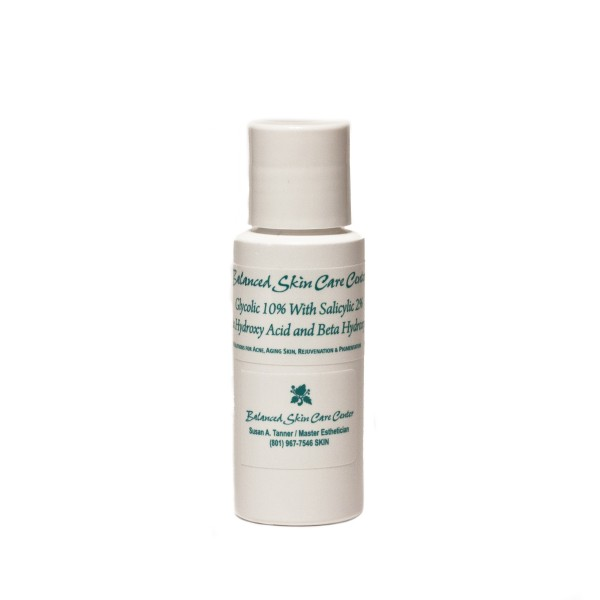 Chemical Peel - w/ Glycolic Gel by Balanced Skin Care – 2 oz.