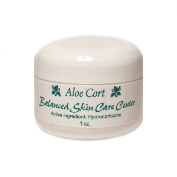 Anti-Itch Cream w/ Aloe by Balanced Skin Care – 1.0 oz.