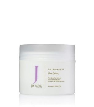 Body Butter w/ Antioxidants, Vitamins, & Natural Oils by Jericho – 7 oz.