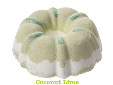 Birthday Cake Bath Bomb - Coconut-Lime by Dead Sea Spa Care