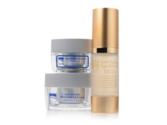 Dead Sea Spa Care 3-Piece Facial & Eye Moisturizing Set