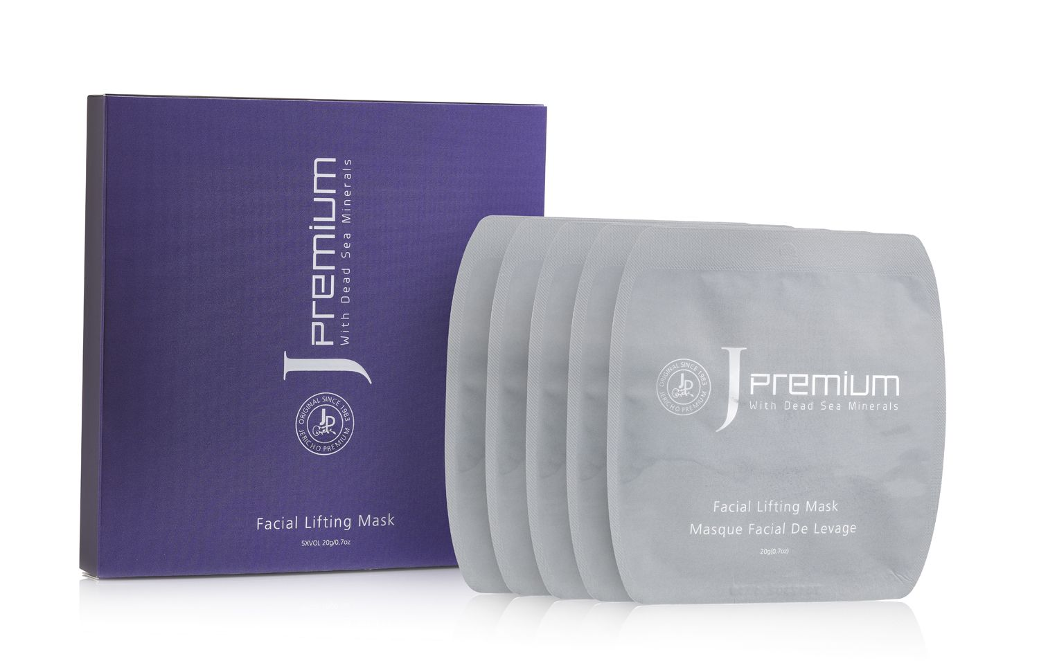 Face Mask w/ Dead Sea Salts & Hyaluronic Acid by Jericho – 3.4 oz.