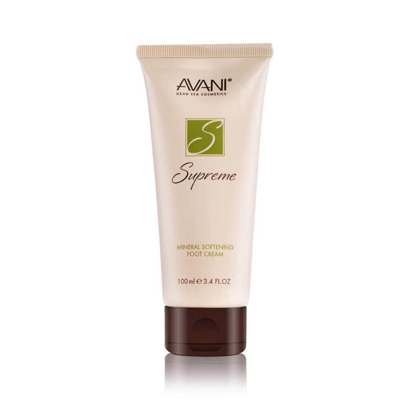 Foot Cream w/ Dead Sea Minerals & Extracts by Avani - 3.4 oz.