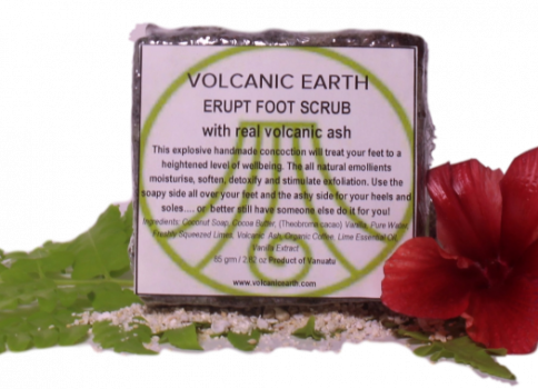Volcanic Earth Erupt Foot Scrub, 60 gms
