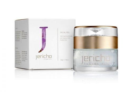 Face peel w/ Dead Sea Minerals & Plant Extracts by Jericho - 1.76 oz