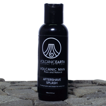 Men's Aftershave w/ Manly Essential Oils by Volcanic Earth – 4.5 oz.