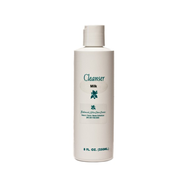 Cleansing Milk w/ Mineral Oil by Balanced Skin Care – 8.0 oz.