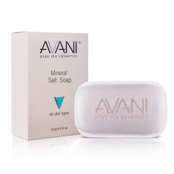 Face Cleanser for Dry Skin w/ Mineral Salts by Avani – 4.4 oz.